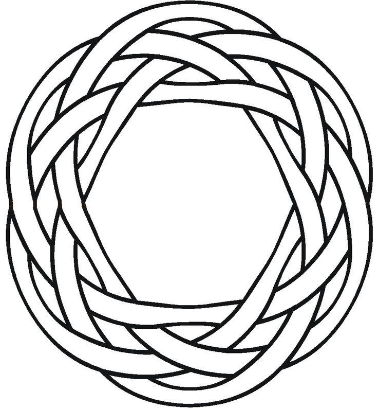 Circular Celtic Knot 1