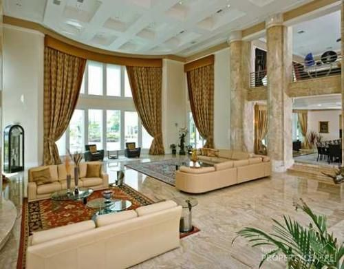 14 best images about my favourite luxury homes in nigeria on pinterest africa beautiful homes - Beautiful house interior living room ...