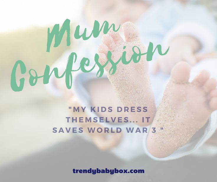What's your mum confession? Share it with us!