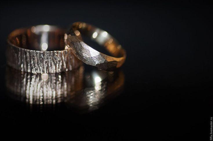 Купить Обручальное танго. - золотой, обручальные кольца, обручальное, свадьба, свадебные украшения, wedding, ring
