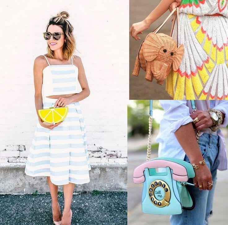 Saindo do óbvio com as bolsas divertidas – We Fashion Trends