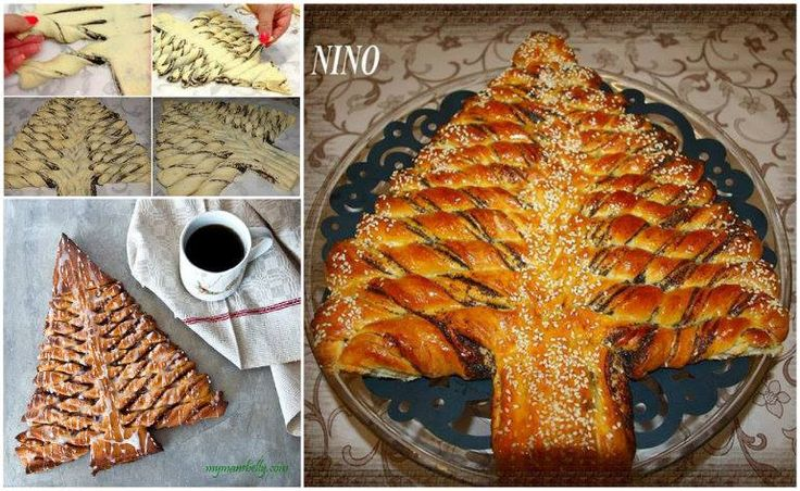 This Braided Nutella Christmas Tree Bread is a little twist you can do to add a personal touch to your Christmas table.  Check recipe-> http://wonderfuldiy.com/wonderful-diy-braided-nutella-christmas-tree-bread/