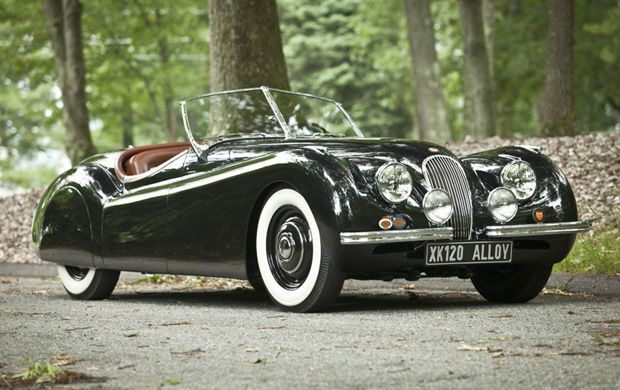 1950 Jaguar XK120 Alloy Roadster |