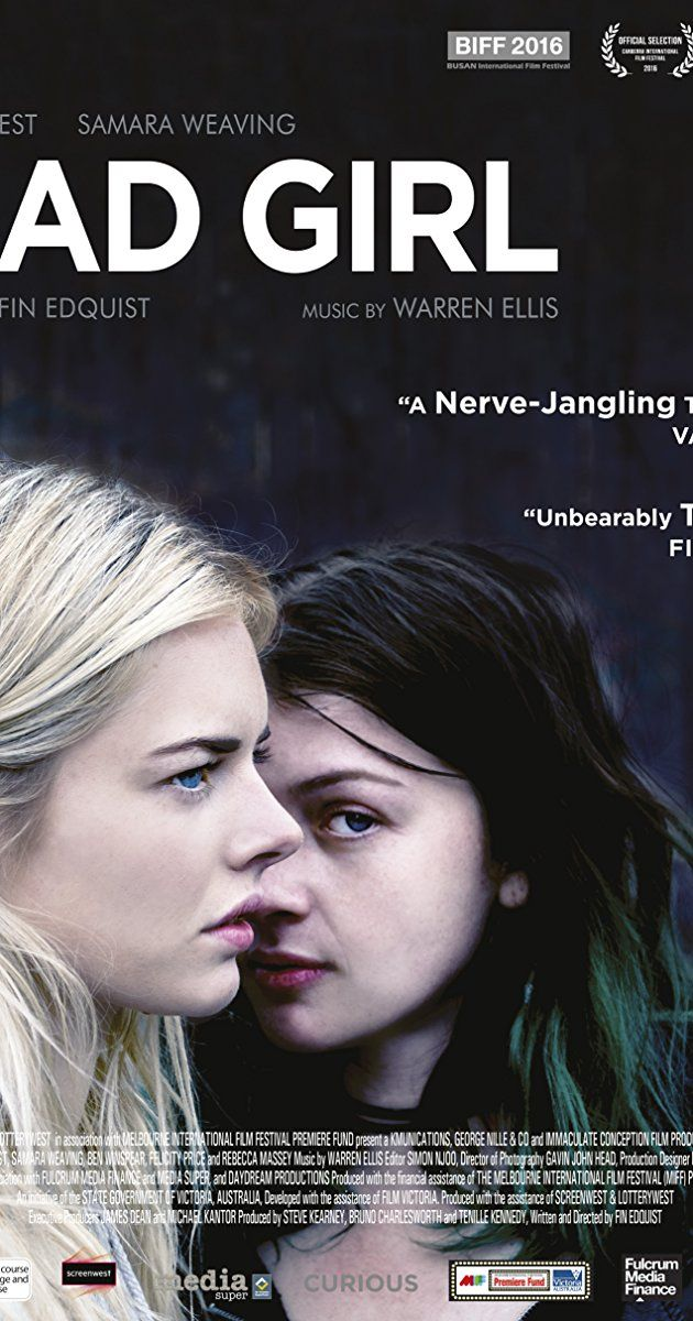 Directed By Fin Edquist With Samara Weaving Felicity Price Liam Graham Benjamin Winspear Bad Girl Amy 17 Is Given One Las Girl Film Bad Girl Girl Movies