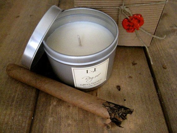 """Soy Candle 6oz, Sandalwood Musk, """"Rogue"""", Tin candle,  Scented Candle, Gift for him, Candles for men, Luxury candle, Spiced scent, Vegan"""