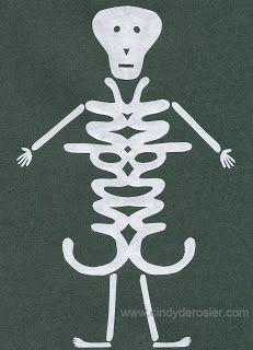 Cindy deRosier: My Creative Life: Name Skeletons