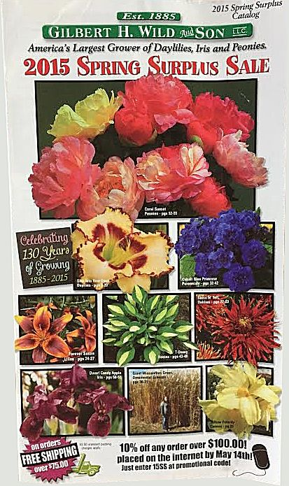 70 Free Seed and Plant Catalogs: Gilbert H. Wild & Son's Free Plant Catalog