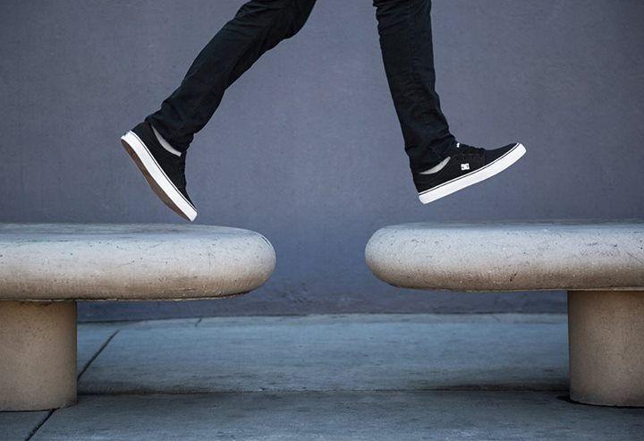 DC Shoes, DC TRase TX Black/White