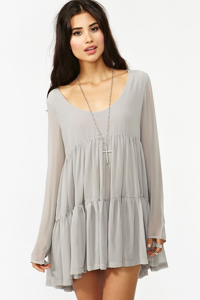 Prairie Dress from Nasty Gal--could DIY this