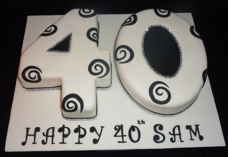 Number Cakes for Adults | Number Cakes - Dawns Cakes