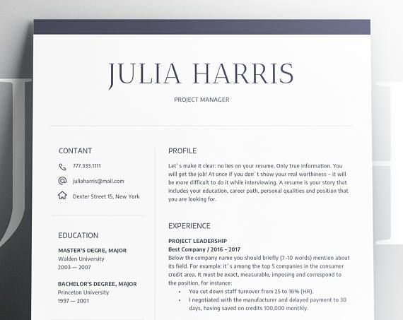 THINK OF A RESUME AS SELF-ADVERTISEMENT! Welcome to CapsLook! In the next 10 minutes you will understand how to create a winning and professional resume. Throughout our work, we saw more than 10,000 resumes and we are good at showing true professional worthiness. Our team do care about the