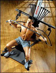 20 minute Bowflex workout.