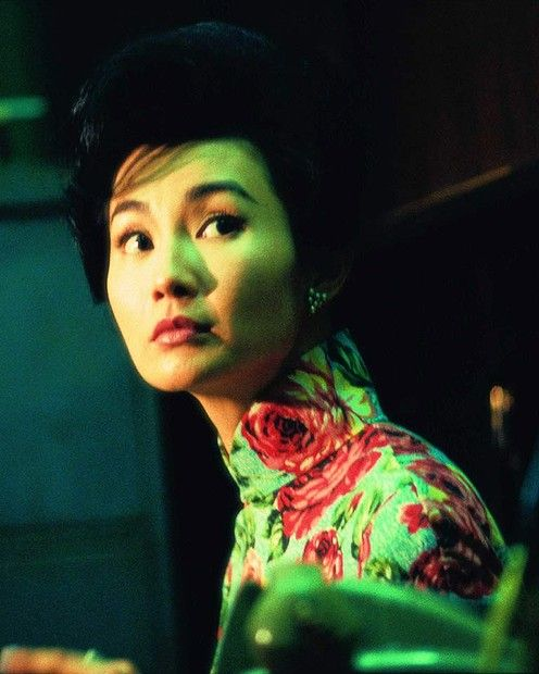 """""""In The Mood For Love"""" - one of the stars  Maggie Cheung."""