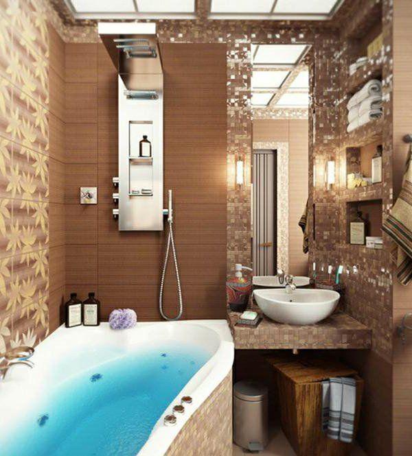 Kleine badezimmer  Die 25+ besten kleines und elegantes Badezimmer Ideen auf ...