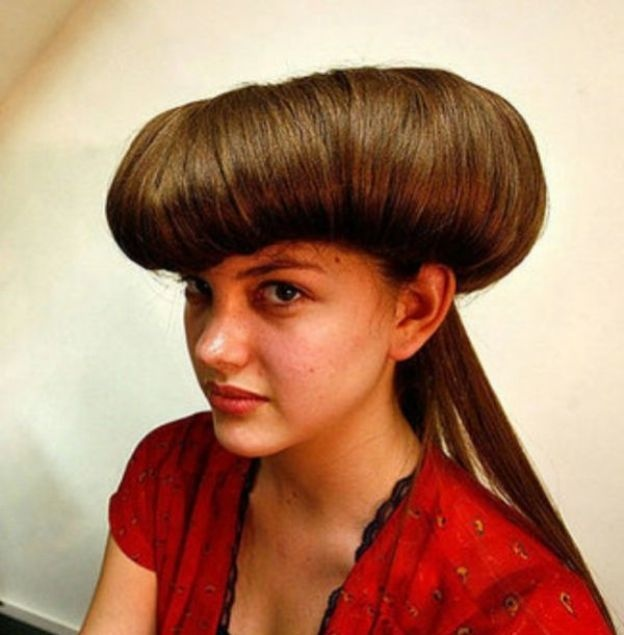 Stupendous 1000 Images About Weird Hairstyles On Pinterest Weird Hairstyle Inspiration Daily Dogsangcom
