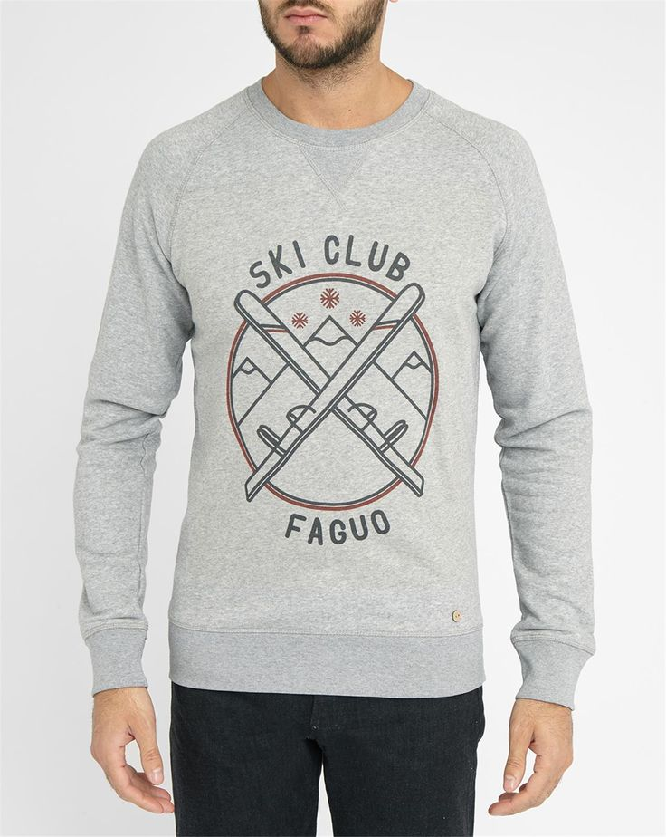Sweat Ski Club Gris