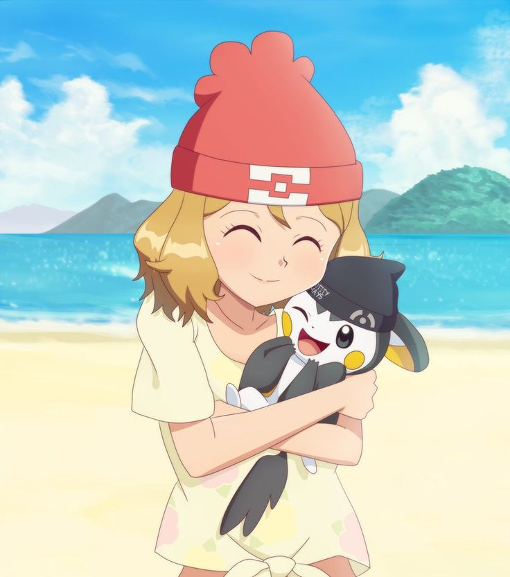Commission for EntityMays , of Alola Serena hugging his particular Emolga/Emonga. I have an alternate version of this one where Serena is hugging a Mimikyu instead, one of ...