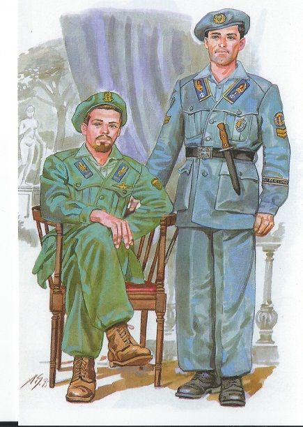 Italian paratroopers R.S.I. - pin by Paolo Marzioli