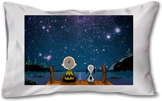 Uzay Boşluğu Snoopy Kendin Tasarla - Yastık 45 x 27 x 10 cm