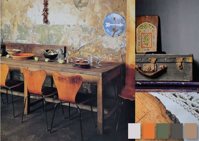 Eclectic Style Traditional Rustic Accents - still a big trend for 2014 Interior Design
