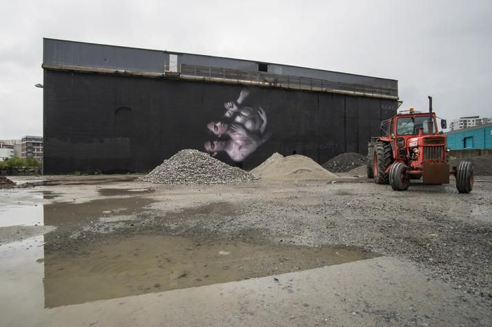 Henrik Uldalen (NO) for Nuart Festival 2016, Norway. www.nuartfestival.no