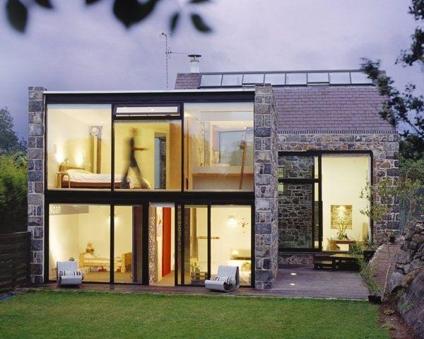 Превращение сарая 15 века в современный дом на острове Гернси - Сундук идей для вашего дома - интерьеры, дома, дизайнерские вещи для дома
