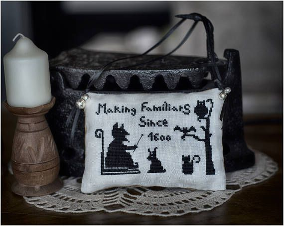 Making Familiars by TheWitchyStitchyRabbit  PDF Cross Stitch Pattern
