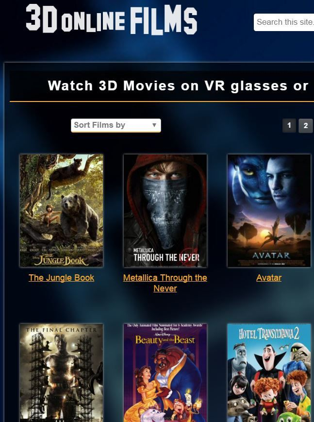 vr 3d hollywood movies free download