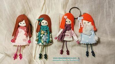 muñecas broches