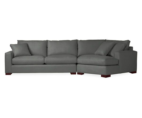 Metro sofas with angled chaise we chaise sofa and for Angled chaise sofa