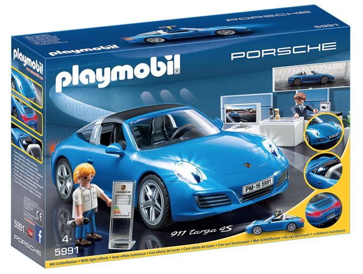 I'm all for toy cars. Hell, at least 75 percent of my kid's Hanukkah haul is toy-car related. And while I know Playmobil makes some very nice toys, and their toy Porsche 911s look especially fun, what with their illuminated headlights, taillights, and even dash instruments! But a Porsche dealership toy? What kid is into this?