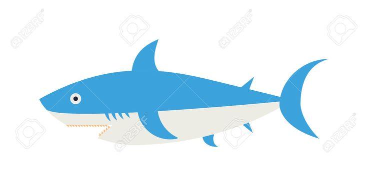 53483068-Cartoon-Shark-vector-illustration-Cool-flat-shark-Vector-illustration--Stock-Photo.jpg (1300×659)