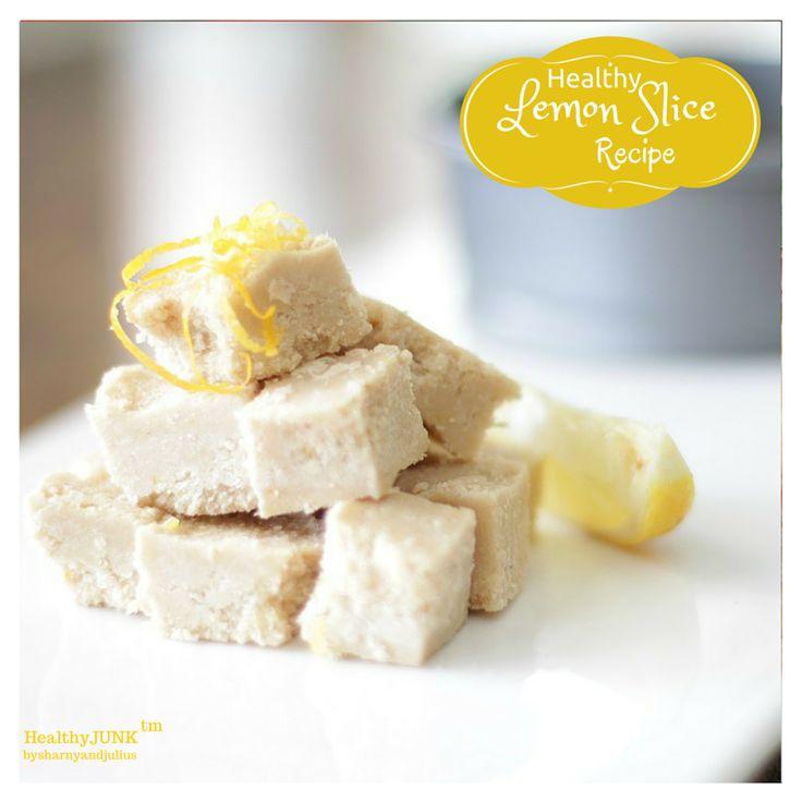 Healthy Lemon Slice Recipe | Sharny and Julius