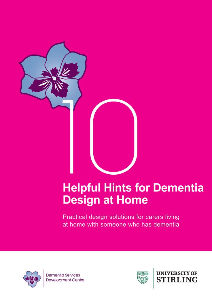 Helpful Hints For Dementia Design At Home