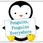 GREAT REVIEWS!  Contents-Penguin Informational Text for High K5, on Grade level 1st Grade, and lower 2nd Grade Readers-Includes 1st grade site words -Penguin w...