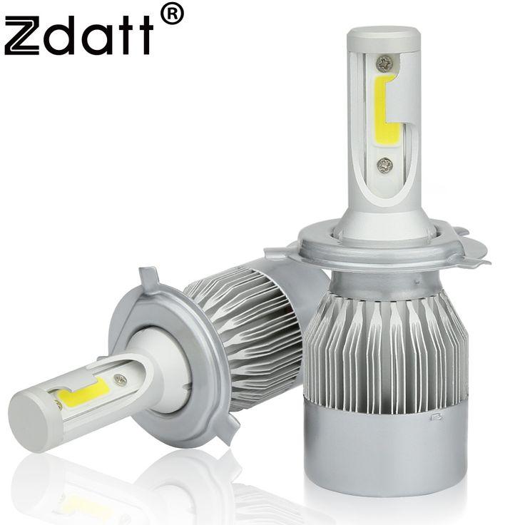 Cool Zdatt Pcs Super Bright Led Ampoule W De Voiture Led Phare V Moto Auto Brouillard Lampe Automobiles