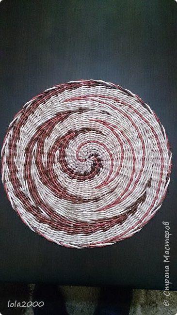 Закладка Поделка изделие Плетение панно Трубочки бумажные фото 5