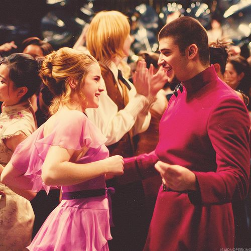 gettin their groove on at the yule ball hermione