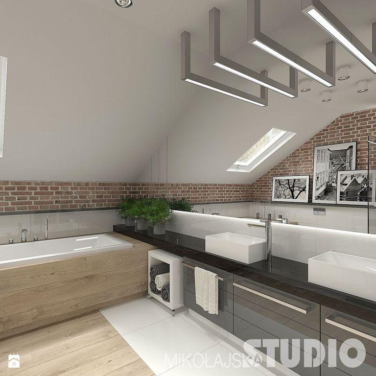 Aranżacje wnętrz - Łazienka: Łazienka w stylu skandynawskim - MIKOŁAJSKAstudio. Przeglądaj, dodawaj i zapisuj najlepsze zdjęcia, pomysły i inspiracje designerskie. W bazie mamy już prawie milion fotografii!