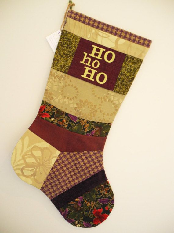 Christmas Stocking One-of-a-Kind Embroidered by VanDijkDesigns