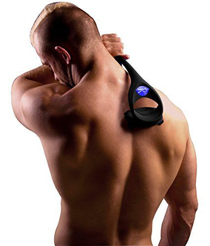 baKbalde 2.0 – Rasoir pour le dos et le corps: Le baKblade 2.0, qui vient avec le système de lame breveté de baKblade, est un rasoir corps…