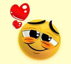 Resultado de imagen para caritas de whatsapp enamorado