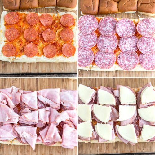 ITALIAN SLIDER SANDWICHESReally nice recipes. Every hour.Show me #hashtag