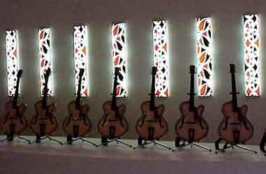 Michael Parekowhai - 10 guitars