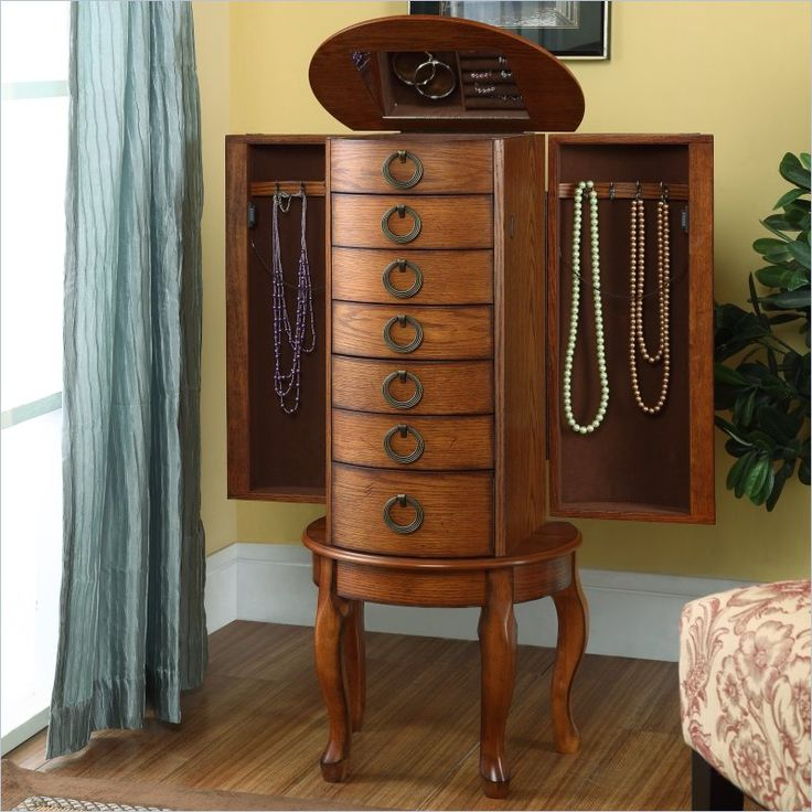 Stand Alone Jewelry Box 30 Best Amish Jewelry Armoire Images On Pinterest  Jewelry Armoire