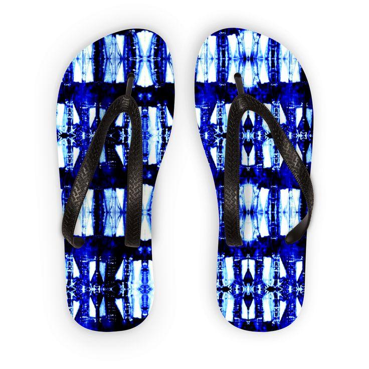Cobalt Cool Shades Flip Flops https://blooom-store.myshopify.com/products/flip-flops