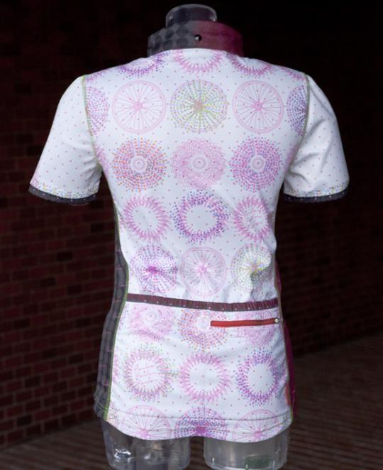 Pandani>Cycle レディーストップス>アウトレット>G&W レディース半袖ジャージ(ピンク) 商品詳細
