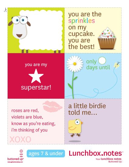 Lunchbox notes: Lunch Boxes, School Lunch, Lunchboxnotes, Lunch Notes, Lunchbox Notes, Kids, Free Printables, Lunch Box Notes