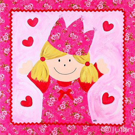Sophie met de fuchsiaroze jurk op www.julijn.nl