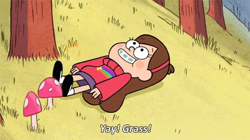 …or spend some time enjoying the great outdoors. | 17 Gravity Falls GIFs To Brighten Up Your Day